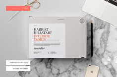 The Fitzroy template is a 24 page Indesign brochure template available in both A4 and US letter sizes • Available here → https://creativemarket.com/studiostandard/264299-Fitzroy-Template?u=pxcr