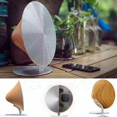 Function and style at up to 80% off. The Tone In A Cone a High-Quality Bluetooth Speaker with NFC connectivity has touch-sensor volume control, letting you enjoy music like it should be. With its clear, crisp sound that emits from its sleek cone-like design, the dual speakers will fill up your whole room.