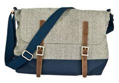 Hey, I found this really awesome Etsy listing at https://www.etsy.com/listing/160594939/grey-canvas-handbag-canvas-shoulder-bag