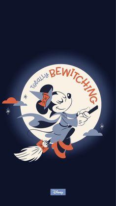 Cute Fall Wallpaper, Holiday Wallpaper, Halloween Wallpaper Iphone, Wallpaper Iphone Disney, Disney Halloween, Minnie Mouse Halloween, Halloween Fun, Halloween Decorations, Disney Magic