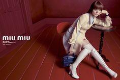 Miu Miu Spring/Summer 2014 campaign featuring Bella Heathcote. Photographed by Inez van Lamsweerde and Vinoodh Matadin.