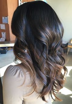 Fresh and Trendy Bleach Balayage Long Wavy Hairstyles to Show Off in 2019 Brunette Hair, Balayage Brunette, Balayage Hair, Ombre Hair, Dark Balayage, Bayalage, Dark Hair, Brown Hair, Long Wavy Hairstyles