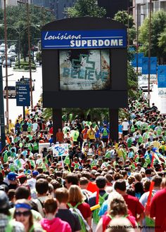 LCMS National Youth Gathering in New Orleans, Louisiana in 2010. Over 25,000 Lutheran teens gathered in the city of New Orleans to worship and praise God together! It was an experience I will never forget!!