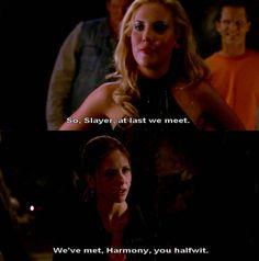 Harmony Kendall. Buffy Summers. Buffy the Vampire Slayer.