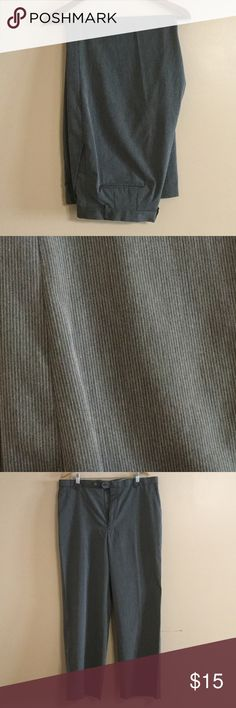 """Like New Claiborne Charcoal Gray Pinstripe Pants A beautiful pair of pants great for the office or formal affair. Inseam 32"""" Claiborne Pants Dress"""