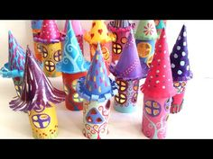 DIY. La Casita de los Duendes, Paper Fairy House - YouTube