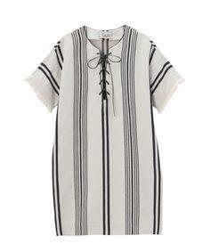 【セール】 Laula ボヘミアンストライプワンピース(ワンピース) | aquagirl/アクアガール のファッション通販サイト - セレクトスクエア