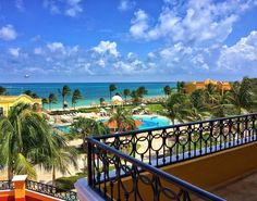 Wake up to your own private balcony when you book a stay at the adults-only Secrets Capri. Adults Only, Riviera Maya, Cancun, Resorts, Balcony, The Secret, Capri, Mexico, Book