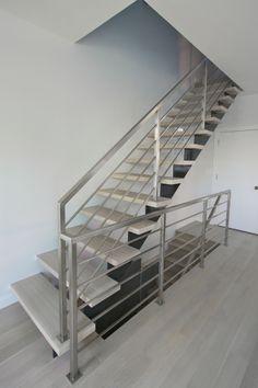 treppe von fuchs treppen stahlholztreppen flachstahlwangentreppen treppen pinterest. Black Bedroom Furniture Sets. Home Design Ideas