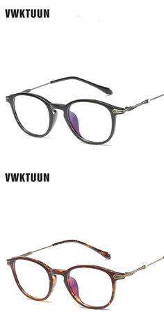 7fc9b9bc1e VWKTUUN TR Frame Vintage Eyeglasses Frames Men Glasses Women Optical Frame Anti  Blu-ray Computer