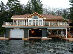 Muskoka Boathouses - Shorline Construction - Boathouse Builder