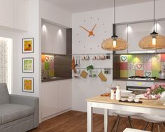 As it turns out, 50 square meters (538 square feet) is plenty for a beautiful, livable space. And not just for one person, but for a whole family. In this post,