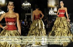 Sari Inspired Dress