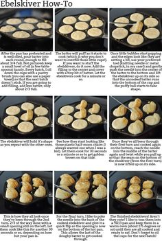 Mels Kitchen Cafe Ebelskivers Puffy Danish Pancakes A HowTo and a Giveaway Danish Pancakes, Pancakes And Waffles, Pancakes Easy, Aebleskiver Recipe, Poffertjes Recipe Easy, Norwegian Food, Norwegian Recipes, Breakfast Recipes, Dessert Recipes