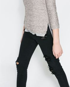 Image 5 of SEQUINNED SWEATER from Zara