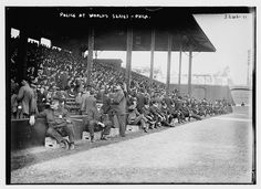 [Police at 1914 World Series, Shibe Park, Philadelphia (baseball)] (LOC) by The Library of Congress, via Flickr