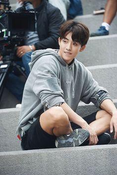Nam Joo Hyuk in Weightlifting Fairy Kim Bok Joo 💕 Lee Hyun Woo, Lee Sung Kyung, Nam Joo Hyuk Smile, Nam Joo Hyuk Abs, Nam Joo Hyuk Tumblr, Asian Actors, Korean Actors, Korean Dramas, Nam Joo Hyuk Wallpaper