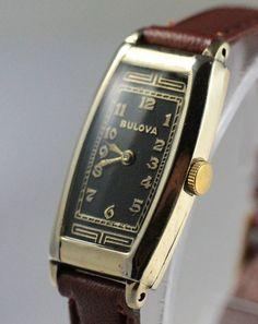 1935 Bulova Farragut Vintage Watch You probably haven't seen a Bulova Farragut before, because there were not many made. This was a long narrow watch marketed for a woman. The watch is more handsome then pretty. The watch was exceptionally long for women. But. a nice size by today's standards.