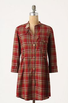 """It might be a scosh too """"Christmas Carol nightshirt,"""" but with leggings and boots, it looks perfectly Walking in the Woods snuggly.  $198"""