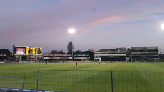 The cricket season is in full swing and the Warriors were playing the Knights in a match in PE tonight. Having a cricket mad daug. Port Elizabeth South Africa, Saint George, Nelson Mandela, Baseball Field, Cricket