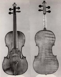A violin made by C.F. Landolphi, circa 1745.