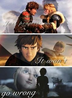 Awesome edit! Credit to whoever made this!♥ Aww best Astrid quote to Hiccup ever!