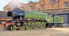 The Flying Scotsman Flying Scotsman, Water Tower, Steam Engine, Steam Locomotive, Towers, A3, Iowa, The Past, British