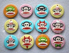 YUMM! We're ready to chow down on these precious #PaulFrank creations!