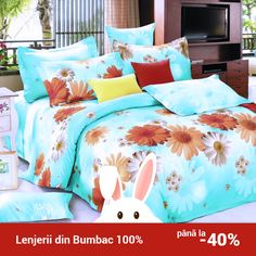 Lenjerie de pat din bumbac Valentini Bianco TB010/4 Comforters, Blanket, Bed, Creature Comforts, Quilts, Stream Bed, Rug, Blankets, Beds