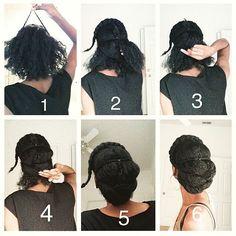 #Hairspiration for the workweek @fret__ #NaturalHairDoesCare #servedsunday #naturallycurlyhair