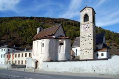 #269: Benedictine Convent of St John at Müstair, Graubünden, Switzerland (since 1983)