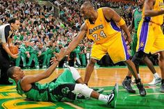 Best rivalry ever lakers vs celtics