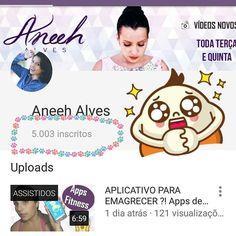 MENINAAAAAS !! 5 MIL INCRITOS NO CANAL  !! Muuuito obrigada lindaaaas  !! #5millindas #5mil  #canal #instabgs #aneehalves #obrigada #thanks #thanksgod #youtuber #YouTube #blogueira #blog