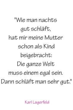 Pin for Later: Karl Lagerfeld's 20 größte Weisheiten, nach denen alle leben sollten