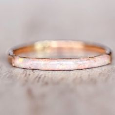 JUST IN || Mermaid Rose Gold Opal Ring || Available in our 'NEW' and 'Mermaid' Collection || www.indieandharper.com