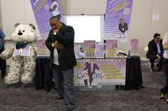 Mark Ress of Blitz Media Marketing having some fun posing for picture #3 at the I.E. Largest Mixer 2011