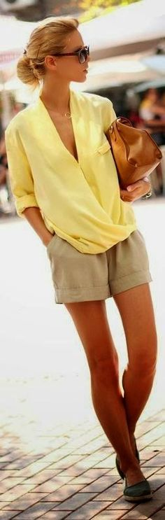 S in Fashion Avenue: Inspirations week: Yellow