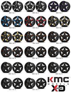 KMC, XD811 Custom Color