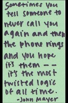 My life...CALL ME...