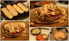 josie's kitchen — dominican chimichurri (dominican burger)