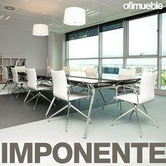#Arkitek es una línea de mesas con un diseño elegante, inspirada en la arquitectura moderna y por supuesto con una calidad inigualable. Conference Room, Dining Chairs, Table, Furniture, Home Decor, Modern Architecture, Mesas, Trendy Tree, Elegant
