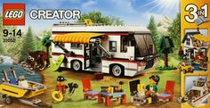 LEGO Creator 31052 Vacation Getaways Building Kit Piece) Enjoy travelling adventures with this amazing LEGO Creator set, featuring an awesome camper Lego Creator Sets, The Creator, Lego Camper, Building For Kids, Building Toys, Lego Duplo, Jurassic World, Legos, Best Lego Sets