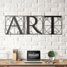 Hoagard - Metal Wall Art and Decorations Decoration, Art Decor, Diy Home Decor, Metal Walls, Metal Wall Art, Iron Furniture, 3d Prints, Inspirational Wall Art, Modern Wall Art