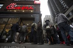 New York's only Chick-fil-A closes just three months after opening as food hygiene inspectors find 59 violations including soiled cloths and an infestation of flies