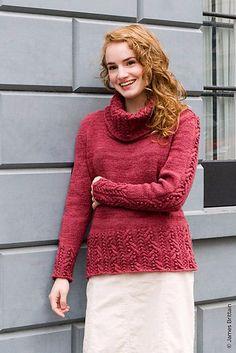 5 (427x640, 243Kb) Celtic, Women Wear, Men Sweater, Turtle Neck, Lady, How To Wear, Knitting Sweaters, Fashion, Tejidos