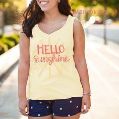 Hello Sunshine Tank Top