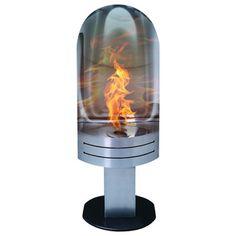 Vulcan Modern Freestanding Ventless Ethanol Fireplace
