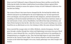 Pottermore: Draco Malfoy Part 7 Harry Potter Pottermore, Pottermore Sorting, Harry Potter Marauders, Harry Potter Facts, Harry Potter Movies, Slytherin House, Slytherin Pride, Lord Voldemort, Dramione