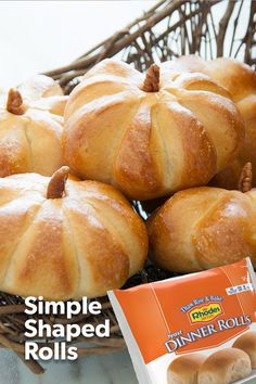 Gather with your family and friends this Thanksgiving, with freshly baked from the oven Rhodes rolls! this step by step guide to make them perfect this holiday season. Find Rhodes in a store near you. Fall Recipes, Holiday Recipes, Christmas Recipes, Thanksgiving Treats, Thanksgiving Table, Thanksgiving Decorations, Dinner Rolls, Holiday Baking, Food To Make