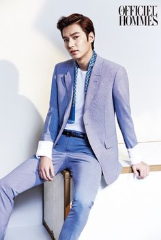 2014.05, L'Officiel Hommes, Lee Min Ho